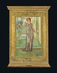 the garland by edward burne-jones