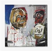 three delegates by jean-michel basquiat