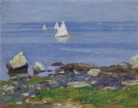 sailing vessels by edward henry potthast