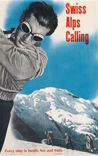swiss alps calling by hans aeschbach
