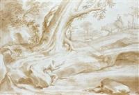 scène pastorale by domenico piola