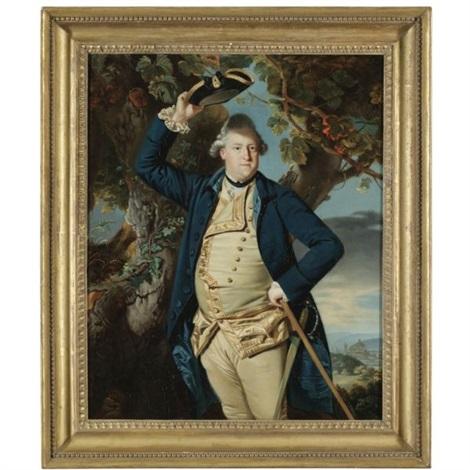 portrait of george nassau clavering, 3rd earl cowper by johann joseph zoffany