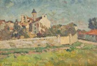 paysage by abel louis alphonse lauvray