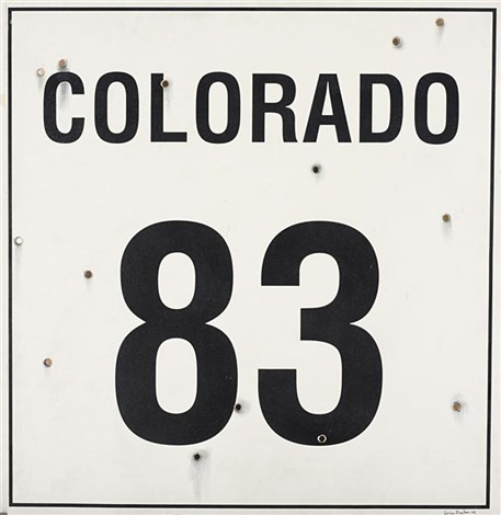 colorado 83 by jimmie durham