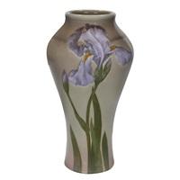 iris vase, #909a by albert r. valentien
