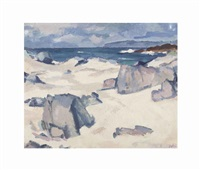 white sands, iona by samuel john peploe
