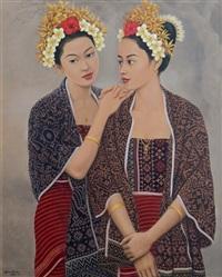 dua gadis tenganan by bawa antara