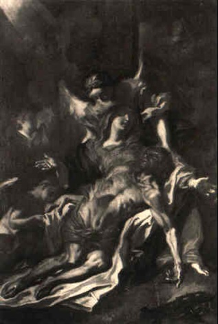 compianto su cristo morto by filippo abbiati