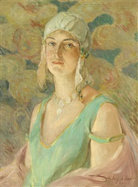 the flapper girl by colin campbell cooper
