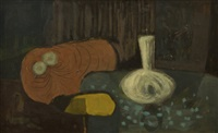 blue table by arthur armstrong