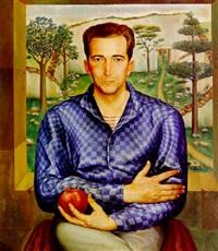 retrato de rené villarnovo by jorge arche