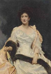 portrait of a lady by raimundo de madrazo y garreta
