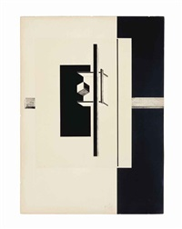 proun 1c by el lissitzky