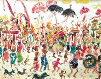 festival in bali by nyoman gunarsa