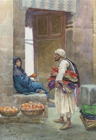 the orange seller by albert rosati