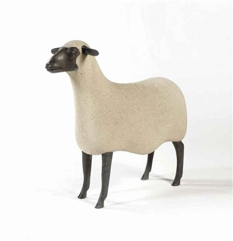 mouton de pierre: sheep by françois-xavier lalanne