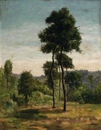 la clairière by antoine chintreuil