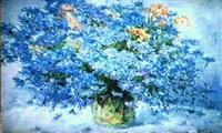 les bleuets by feodor klimenko