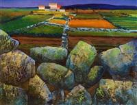 west of ireland farmstead by kenneth webb