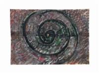 lumaca e spirale by mario merz