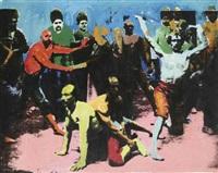 les lutteurs by khosrow hassanzadeh