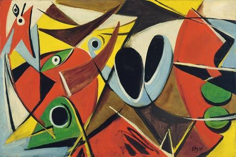 mythe by ernst wilhelm nay