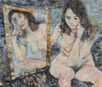 cathy and the mirror 1964 by john de burgh perceval