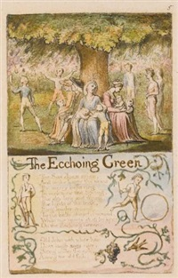 the ecchoing green (2 works) by william blake
