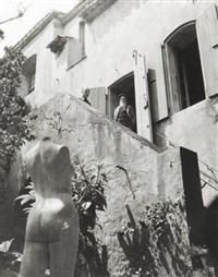 aristide maillol et jean lods (+ un ensemble de statuettes dans l'atelier de marly-le-roi, smllr; 2 works) by g. karquel