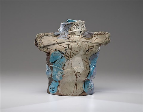 untitled vessel with figures by rudy autio