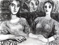 tres figuras by leopoldo presas