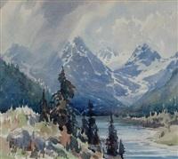 goodsir plateau by alfred crocker leighton