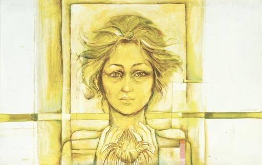 portrait of a woman by suad al attar
