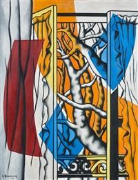 la fenêtre by georges bauquier