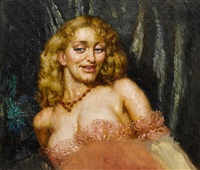 at the ball by norman alfred williams lindsay