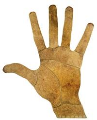 hand (main) (in 9 parts) by farid belkahia