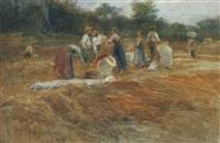 in campagna, 1906 by alessandro battaglia