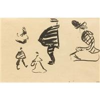 projet d'illustration pour bubu de montparnasse : étude de personnage by albert marquet