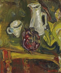 nature morte au chou rouge by chaïm soutine