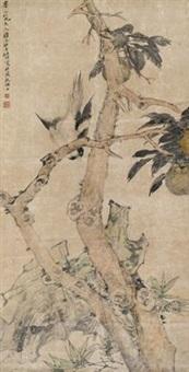 高树飞禽 by ren bonian