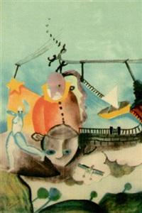 composition d'inspiration surréaliste by cícero dias