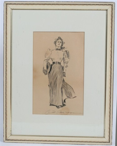 standing woman by charles dana gibson