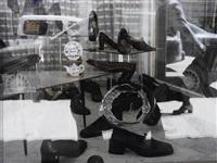 shoe store, ramallah, april 22, 2002 by emily jacir