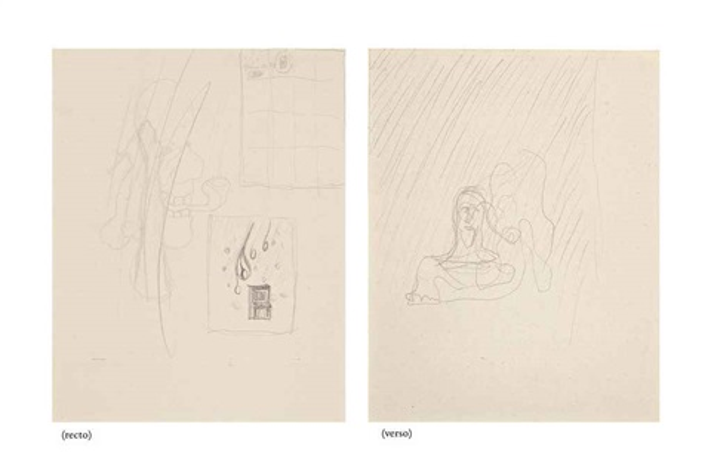 sketch for croquer les idées rectoverso by rené magritte