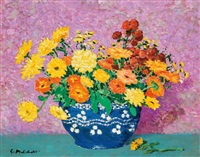 still life with flowers by gari melchers
