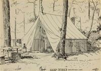 camp nyack, greenwood lake by edward hopper