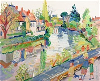 at the canal by fred yates