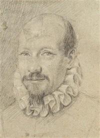 portrait d'homme by ottavio maria leoni