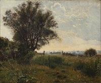 summer landscape by ludvig kabell