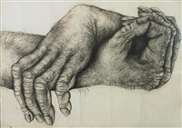 primate hands no.2 by lisa roet